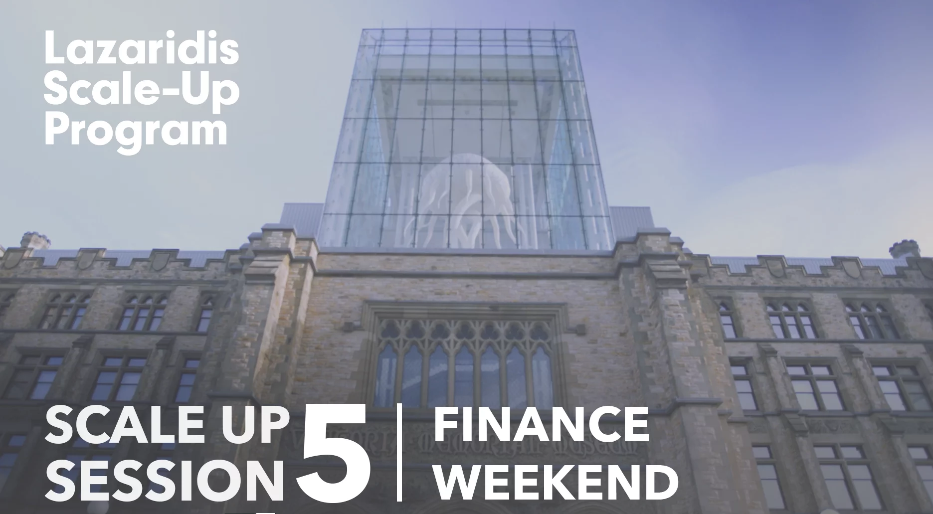 Highlights from the Lazaridis Scale-Up Program's Finance and Operations Weekend