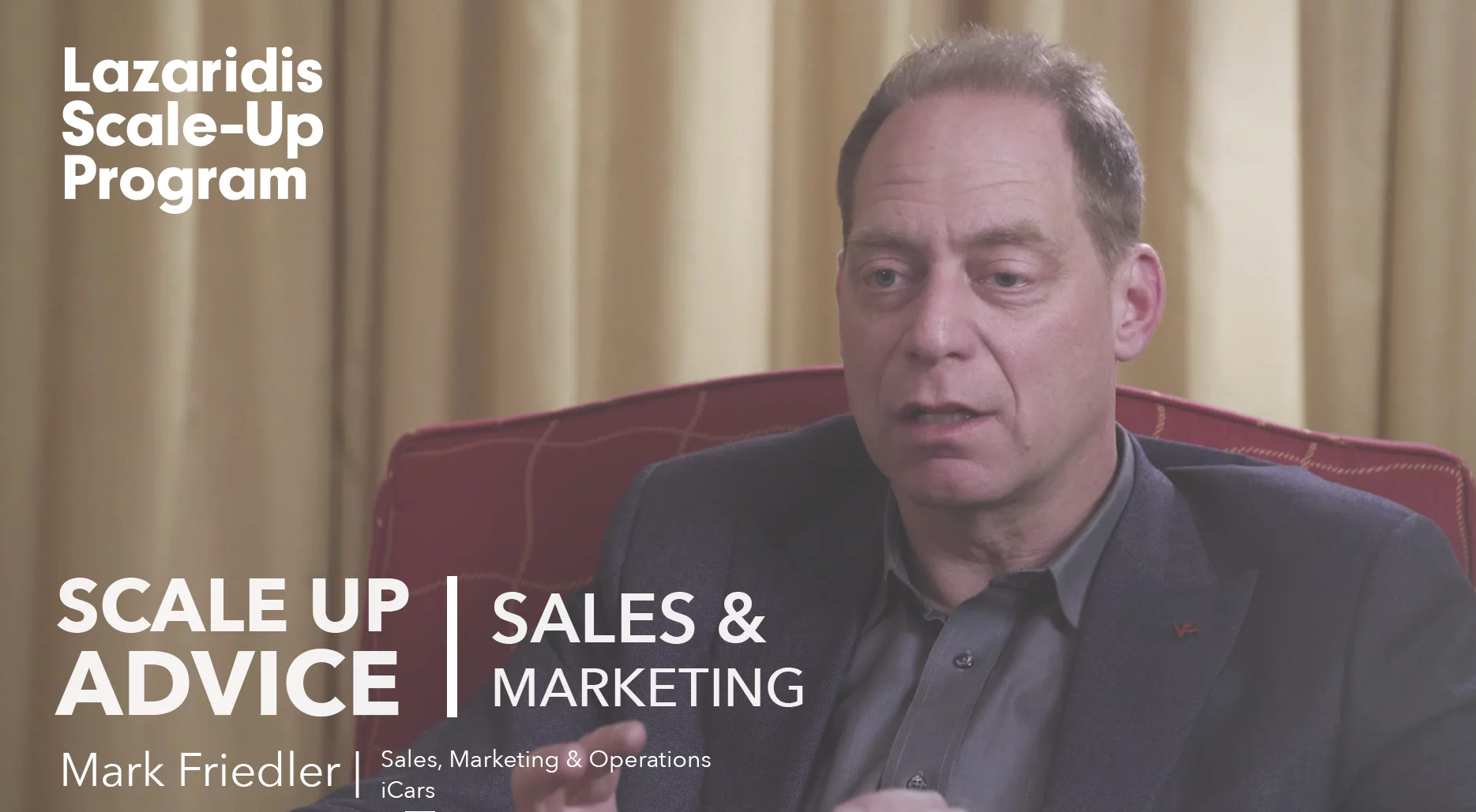 Video: Mark Friedler - Top 3 Sales and Marketing Tips
