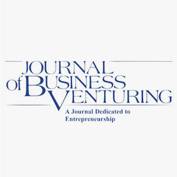Journal of Business Venturing 2018 Best Paper